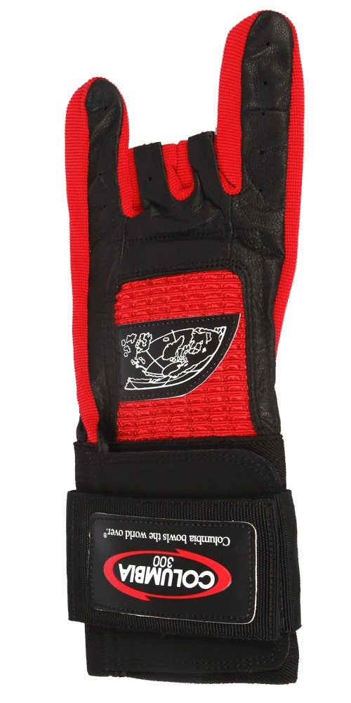 Medium Columbia 300 Pro Left Wrist Glove Red
