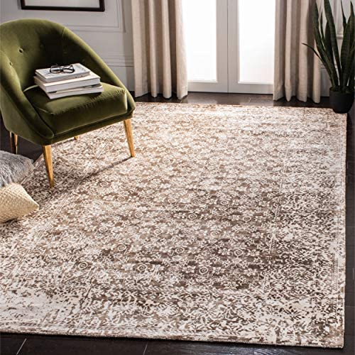 Safavieh Mirage Collection MIR755C Hand-woven Viscose Area Rug, 9 x 12 , Ivory Light Brown