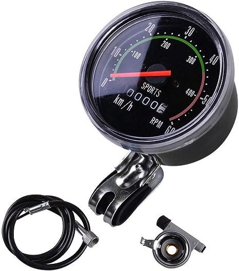 Balight Classic - Velocímetro analógico para Bicicleta de Estilo ...