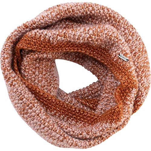 pistil Women's McKenna Infinity Scarf, Saddle, One Size (Brown Infinity Saddle Scarf)
