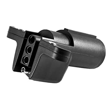 non-brand MagiDeal Auto Anhänger Stecker Adapter Lang Pkw 6 Polig ...