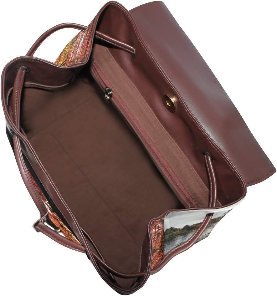 Travel Bag School Bag Storage Bag For Men Women Girls Boys Personalized Pattern Autumn Leaves Backpack Shopping Bag
