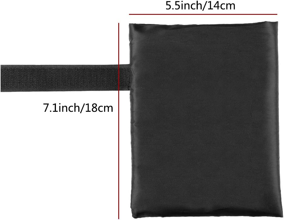 Black 18 by 14 CM Outside Garden Faucet Socks for Freeze Protection Novelfun Tap Jacket Outdoor Tap Cover to Prevent Freezing for Winter 2 Pack