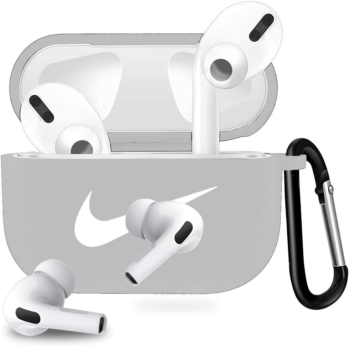 Amazon Com Woocon Airpods Pro Case Cover Silicone Cool Protective
