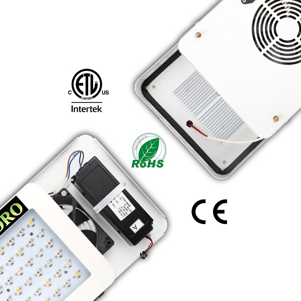 MarsHydro 300W LED Grow Light Full Spectrum for Hydroponic Indoor Plants Growing Veg and Flower by MARS HYDRO (Image #4)