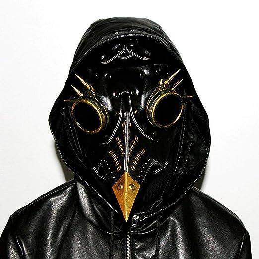 Máscara Halloween Steampunk Plaga Pico Máscara De Cosplay ...