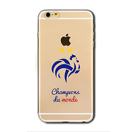 coque iphone 8 plus champion du monde