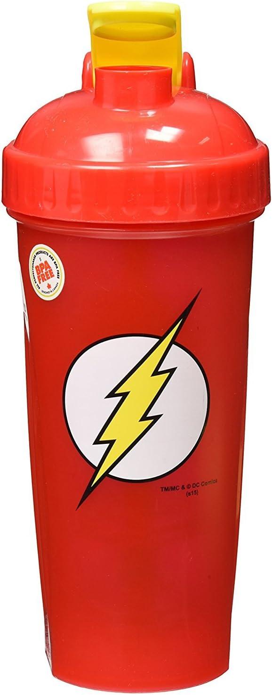 PerfectShaker Hero Series Nutrition Shaker Bottle, Flash