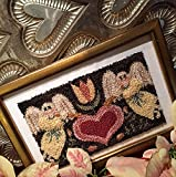 Punch Needle Embroidery FOLK HEART ANGELS