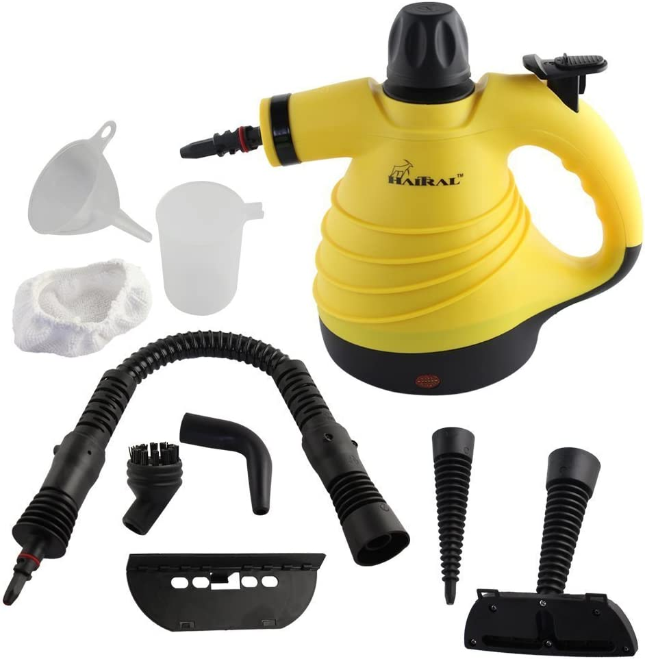 HAITRAL HT-KS2713Y Multi-Purpose Pressurized Handheld Steam Cleaner,