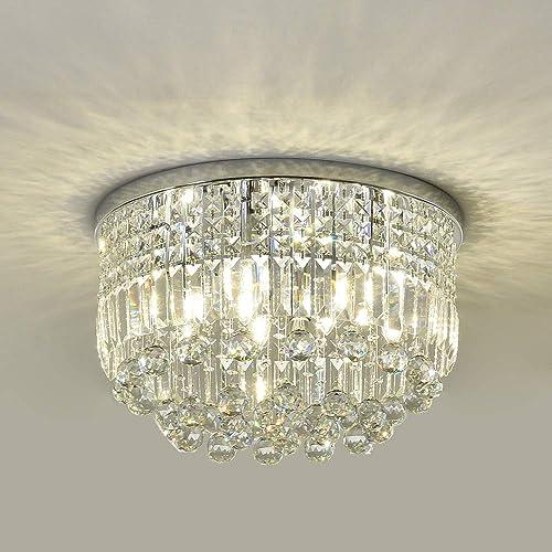 SEFINN FOUR K9 Crystal Ceiling Chandelier Light