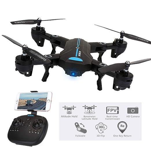 Xianxian88 GPS Drone con cámara de Video en Vivo HD 720P Gran ...