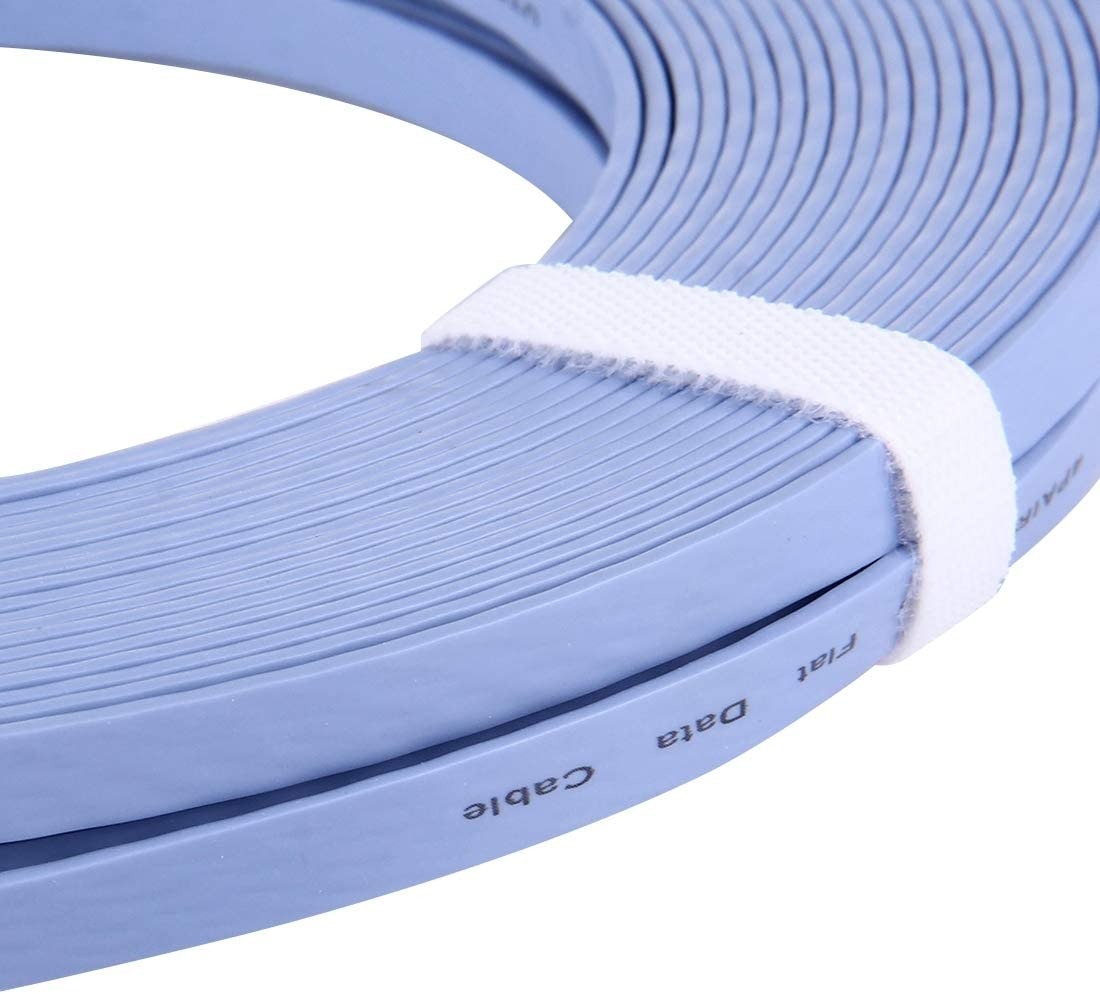 Blue Chenyouwen Network Accessories LAN Cable Tools CAT6 Ultra-Thin Flat Ethernet Network LAN Cable 20m Length
