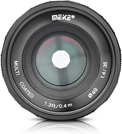 MEIKE MK-35 mm F/1.4 Lente de Apertura Grande de Enfoque Manual ...