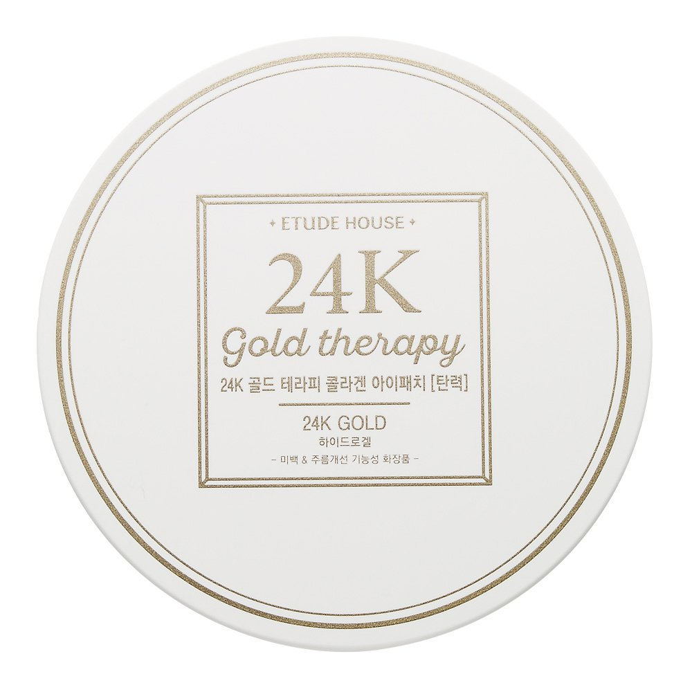 Etude House 24k Gold Therapy Collagen Eye Patch 14g * 60 Sheets