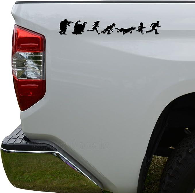 "GHOST SKULL BLK Premium 4/"" Custom Gloss Decal Sticker For Car Truck SUV Window"