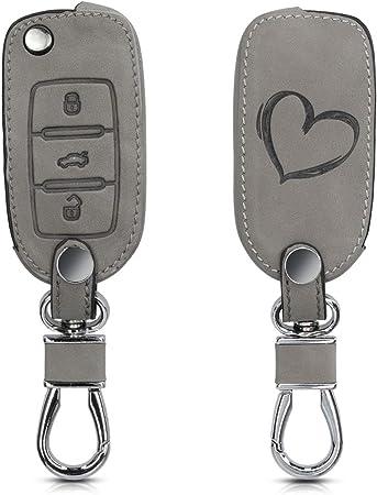 Kwmobile Autoschlüssel Hülle Kompatibel Mit Vw Skoda Elektronik
