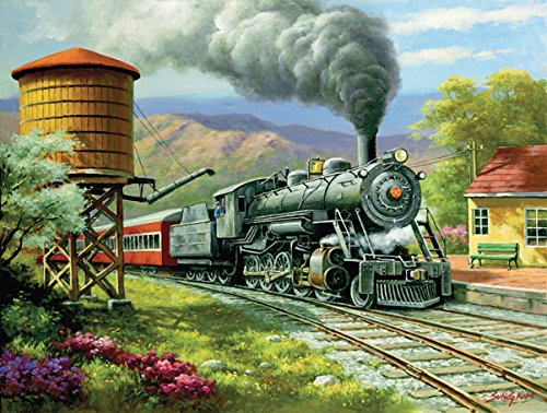 SunsOut No. 90's Daily Run 500 Pc Jigsaw Puzzle