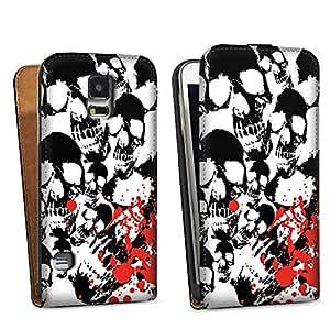 Diseño para Samsung Galaxy S5 DesignTasche black - Skull Blood