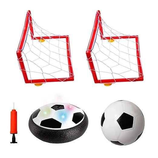 Hover Soccer Ball Set, balón de fútbol flotante con 2 objetivos ...