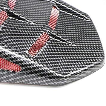 RONSHIN Auto pour Garde-Boue arri/ère de Moto Hugger Protector Car/énage Extension de Garde-Boue arri/ère pour Yamaha MT09 FZ09 XSR900 Bleu
