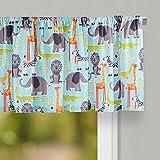 "window valance ideas Glenna Jean Jungle Babies Curtain Valance 70""W x18""H for Kids Window"