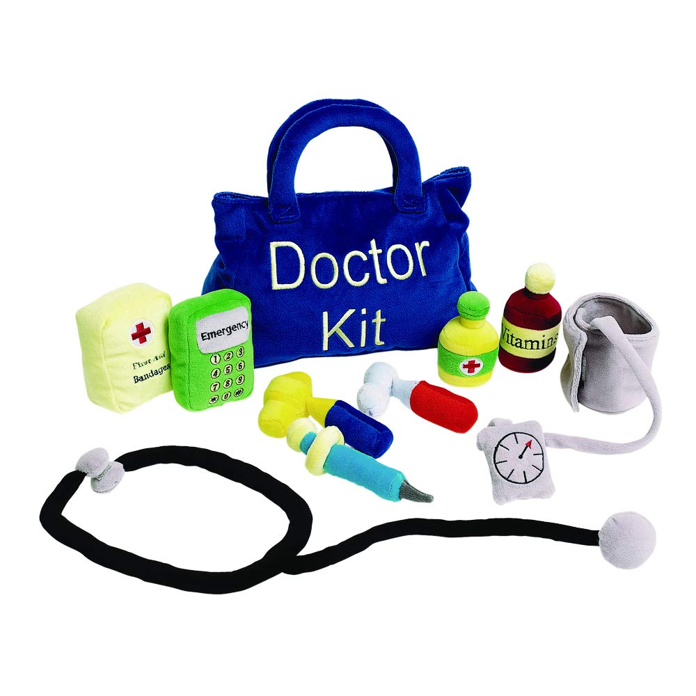 Excellerations PLUSHRX Plush Doctor Kit 10 Pieces (Pack of 10)