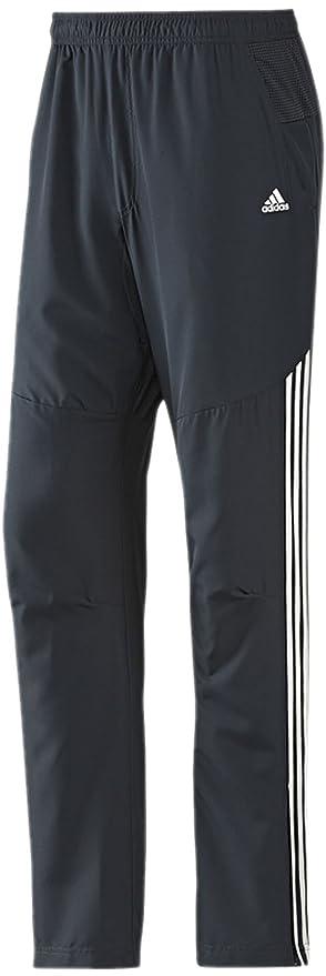 adidas Performance - Pantalones, Color - Negro/Amarillo, tamaño ...