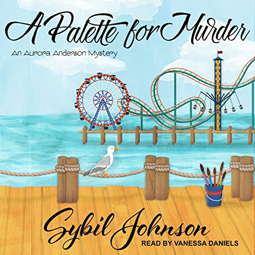 Audio Palette Cd - A Palette for Murder (Aurora Anderson Mystery)
