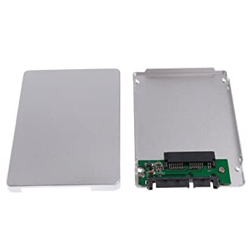 Homyl 1 Pieza de Adaptador 1,8 SATA A 2,5 SATA SSD Caja de 7mm ...