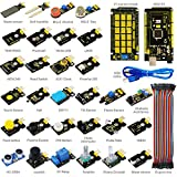 KEYESTUDIO Sensor Kit for Arduino Mega 2560 Arduino Uno R3 Arduino Micro Arduino Pro Mini , 30 Sensor Modules Kit with Tutorial and Mega 2560