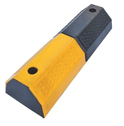 RWS-222 - Tope de goma para ruedas, para delimitar áreas de estacionamiento y