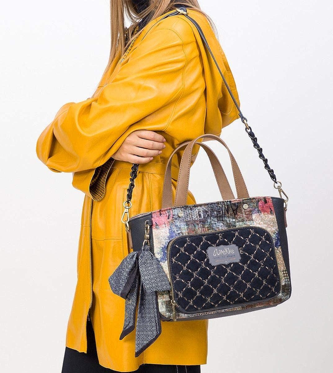 Anekke Pretty velvet tote bag