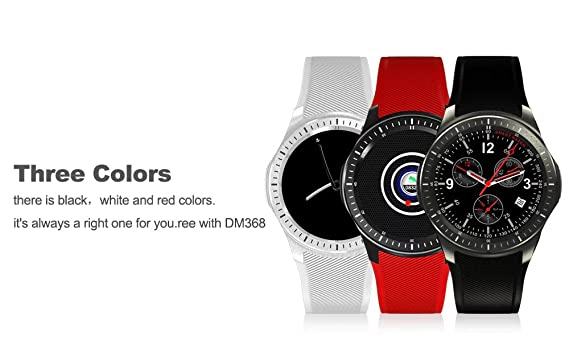 Amazon.com: Generic Domino DM368 3G Android Smartwatch Phone ...