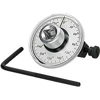 ECD Germany Goniometro Medidor de Angulo de Rotación
