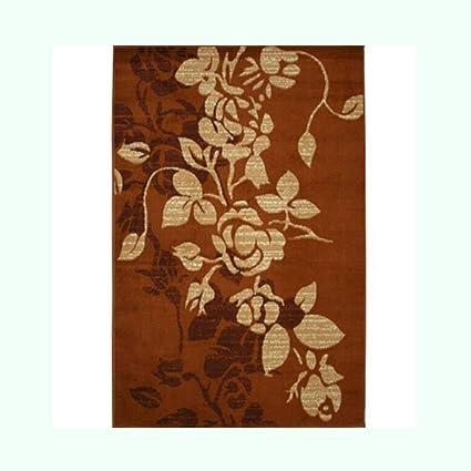 Amazon.com: FH Carpet Garden Flower Living Room Coffee Table ...