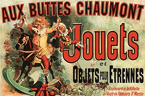 (Buyartforless Jouets - Vintage Ad (As Seen on Friends) 36x24 Art Poster Print Vintage Advertising 19th Century)