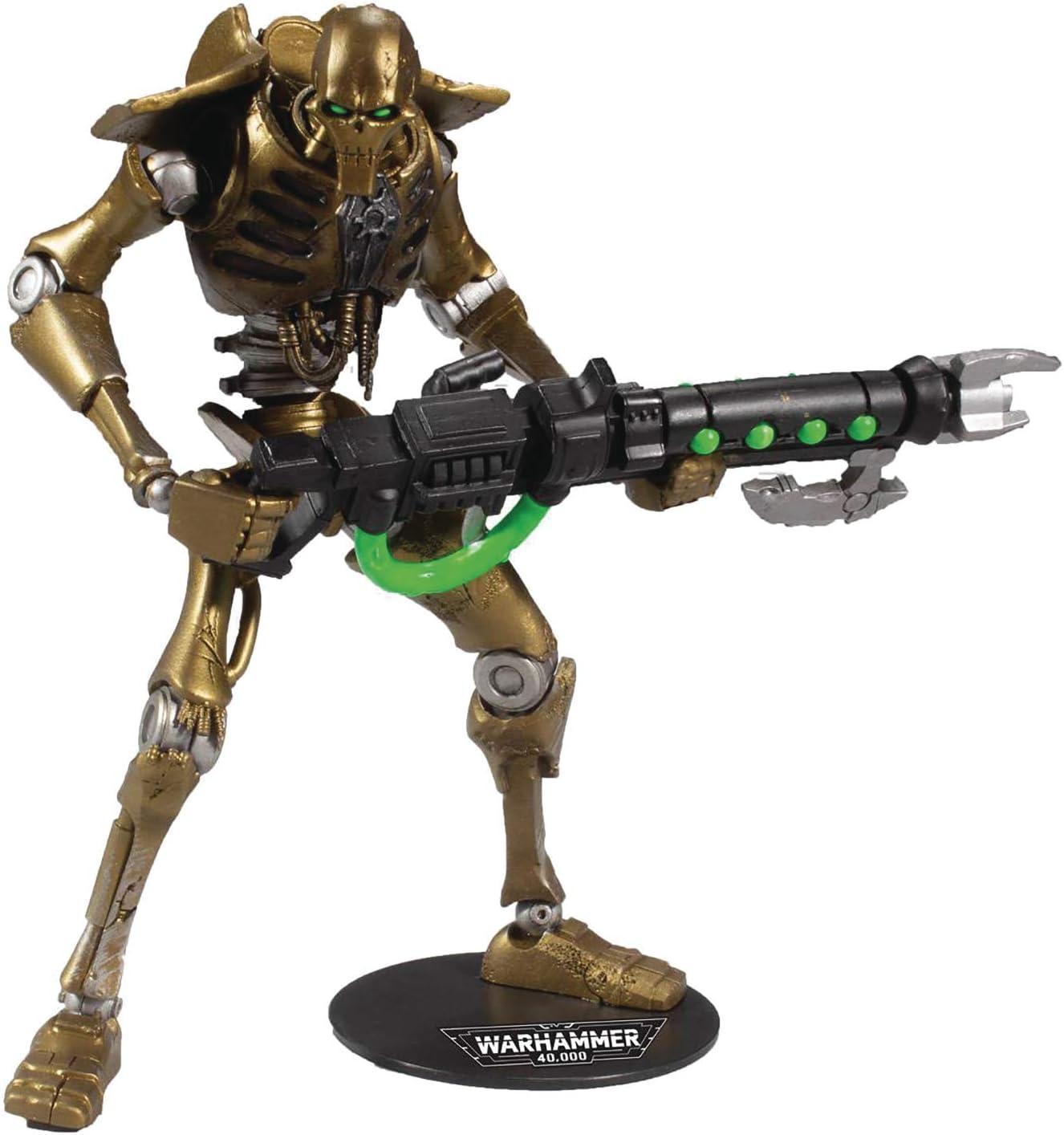 Mcfarlane Warhammer 40 000 Necron Warrior 7 Actionfigur Spielzeug