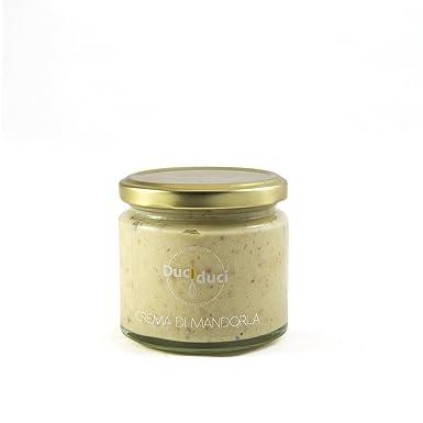 200 gr. crema de almendra untada - Duci Duci - pasta artesanal siciliana, crema