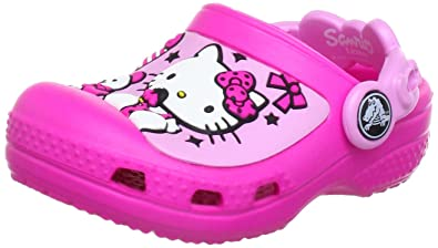 06c5f5a1c Crocs Kids Hello Kitty Candy   Ribbons - Neon Magenta Carnation - J2