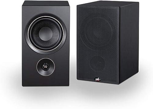 PSB Alpha P5 Bookshelf Speaker – Black Ash