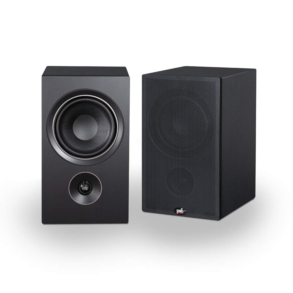 Parlante : Psb Alpha P5 Bookshelf Speaker - Black Ash Alpha