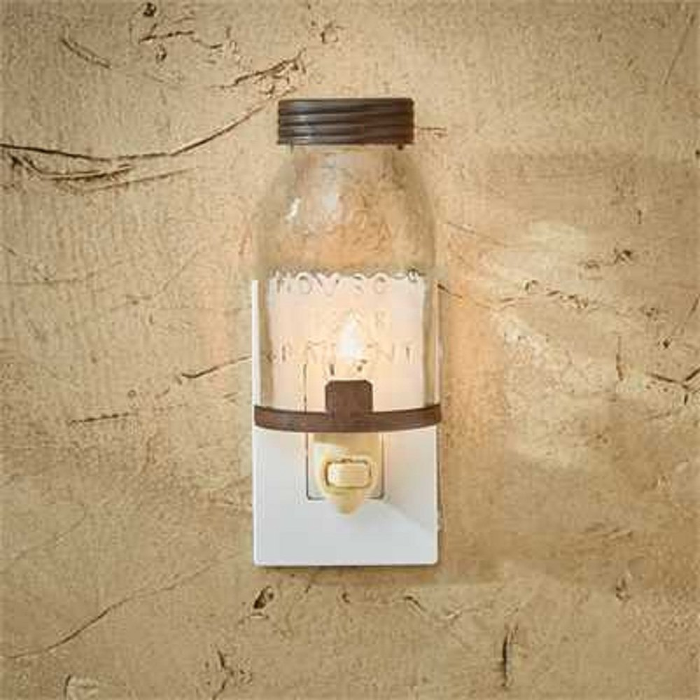 Park Designs Mason Jar Night Light by Park Designs (Image #1)
