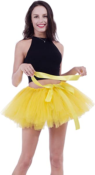 Zooma Faldas Tul Mujer Enaguas Cortas Tutus, Ballet Mini para ...