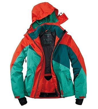 Crivit Sports - Chaqueta de deportes de nieve para mujer, Mujer, color rojo/