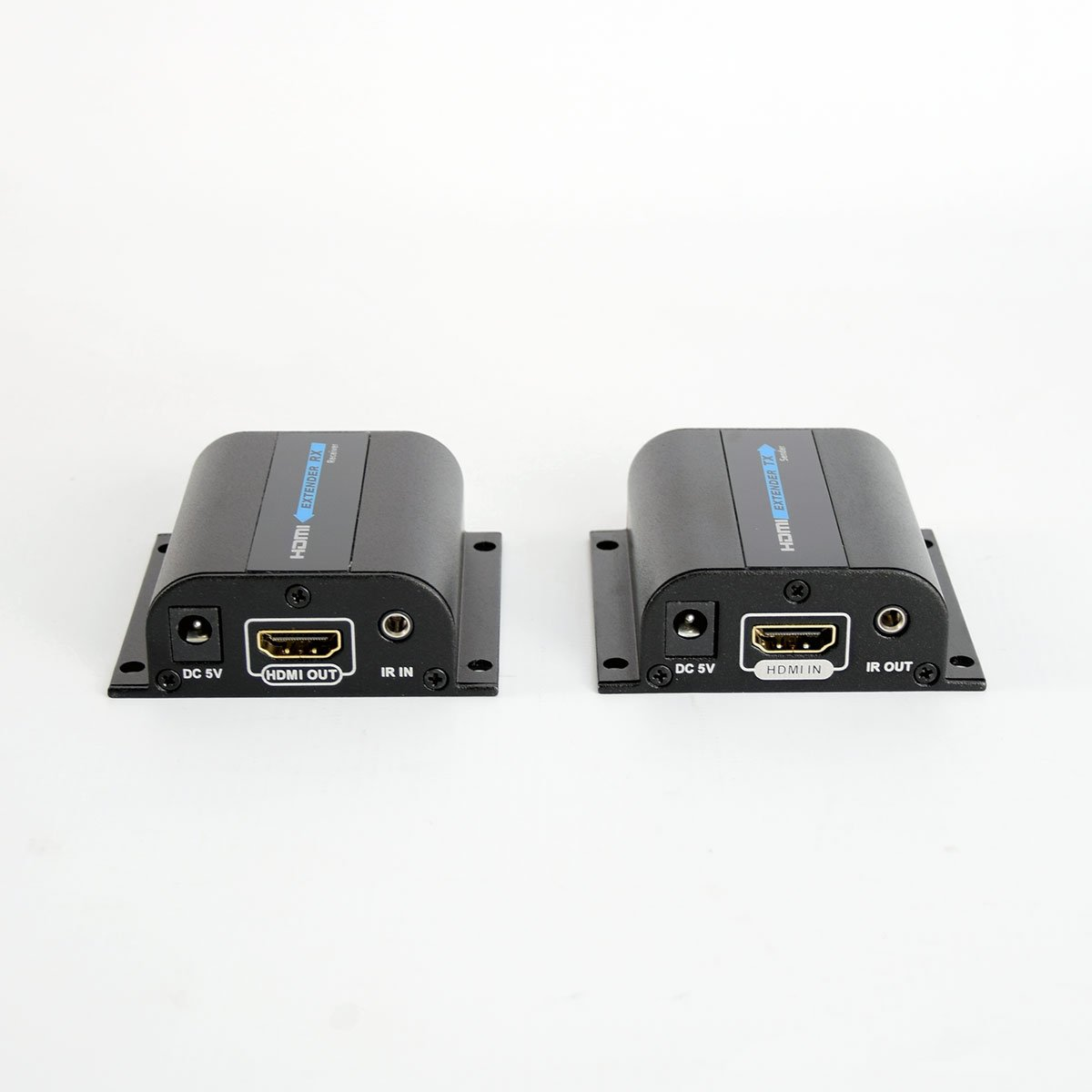 HDMI Extender over CAT6 Cable with IR - 196ft - Supports 1080P, 3D Transmission - CAT5e or CAT6 Connectors