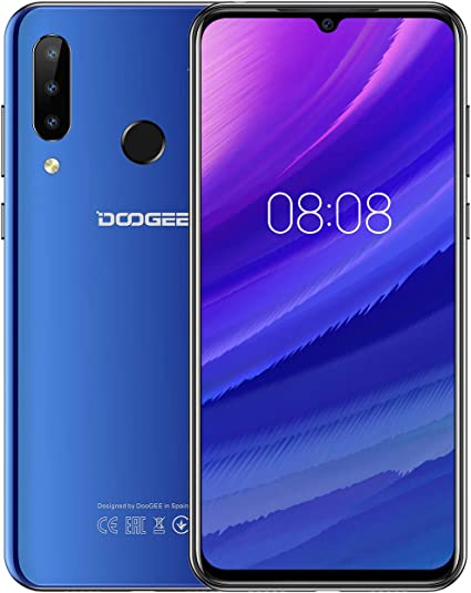 DOOGEE N20 2019 Smartphone Libre 4G, Android 9.0 Telefonos Moviles ...