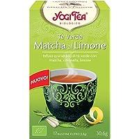 Yogi Tea 1365 Té Verde, Matcha al Limone - 30,6 gr