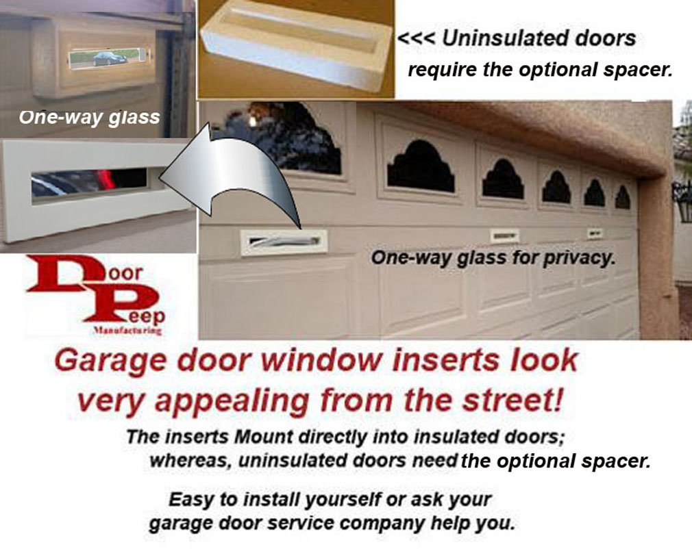 Garage Door Window Viewer Inserts Amazon