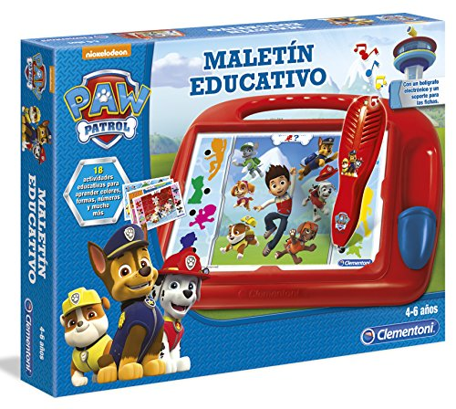Patrulla Canina - Maletin Educativo (Clementoni 550708)